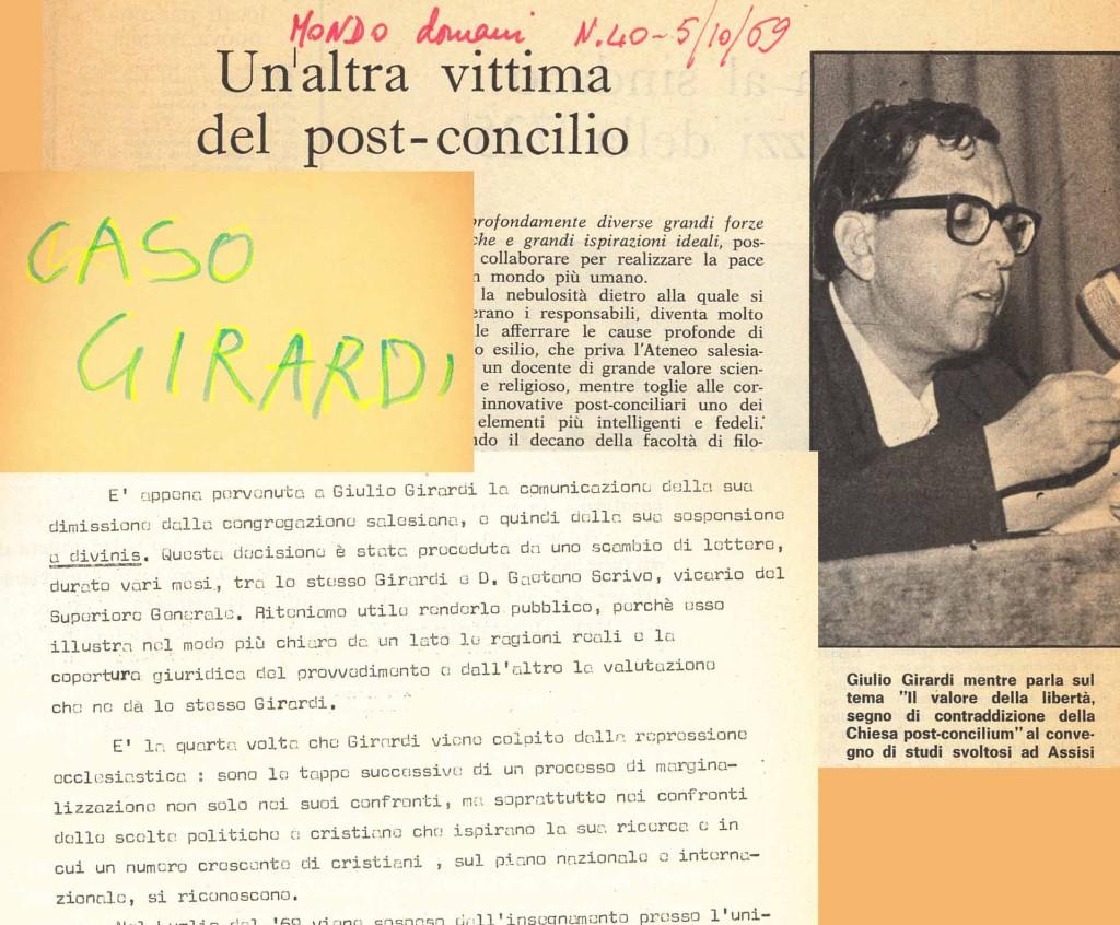 """Dossier sul """"Caso Girardi"""""""